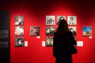 Foto zur Meldung: Besuch in der C/O Galerie im Amerikahaus