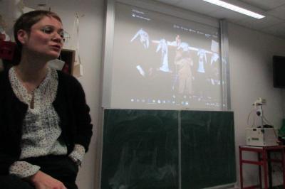 Vorschaubild zur Meldung: Gespräch mit der Kostümbildnerin Justina Klimczyk