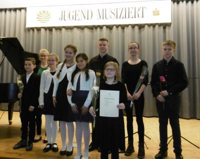 Foto zu Meldung: Musikschüler stark bei Jugend musiziert