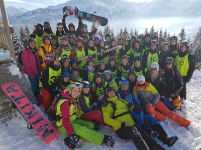 Foto zur Meldung: Schneesportlager 2017