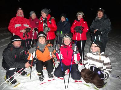 Foto zur Meldung: Fit & Fun macht Schneeschuhwanderung