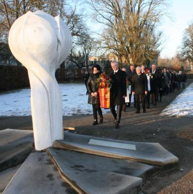 Vorschaubild zur Meldung: Hansestadt Demmin gedachte der Opfer des Nationalsozialismus