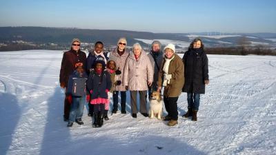 Foto zur Meldung: Winterwanderung zum Kühler