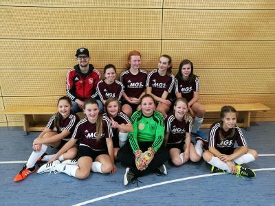 Foto zur Meldung: U-13-Juniorinnen belegen einen guten 4. Platz bei der oberfränkischen Meisterschaft