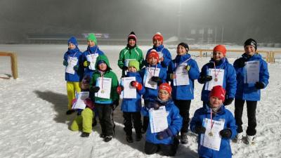 Foto zu Meldung: 10 Podestränge beim NK-Lauf in Oberhof