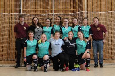 Foto zur Meldung: Impressionen vom B Juniorinnen Hallenturnier des SV Frauenbiburg