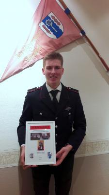Foto zur Meldung: Jahreshauptversammlung der Jugendfeuerwehr Pohnsdorf