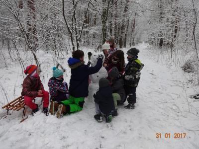 Foto zur Meldung: Winterferien im Hort Neuhardenberg