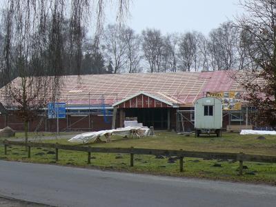 Vorschaubild zur Meldung: Sanierung der Moorhalle Königsmoor geht voran
