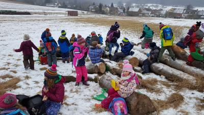 Vorschaubild zur Meldung: Ein Tag im Schnee
