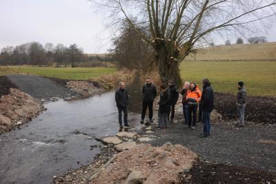 Foto zu Meldung: Brücke und Furt in der Einodsmühle offiziell übergeben