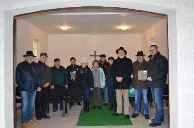 Foto zu Meldung: Trauerhalle Fischbach übergeben
