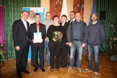 Foto zu Meldung: Zukunftspreis Thüringen - Platz 5 für Klings