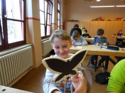 Vorschaubild zur Meldung: Schnupperunterricht an der Sophienschule