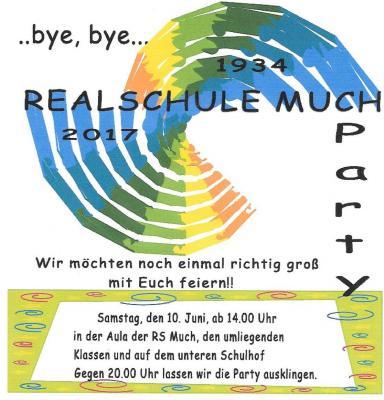 Vorschaubild zur Meldung: ...bye, bye... Realschule Much