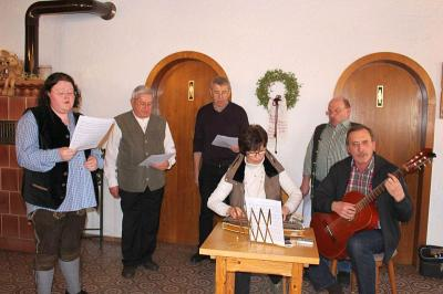 Foto zur Meldung: Die Senioren feierten einen lustigen Faschingnachmittag