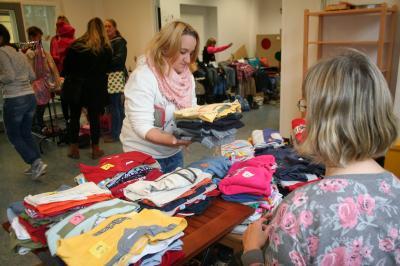 Foto zu Meldung: Baby- und Kinderflohmarkt im Nauener Familienzentrum