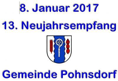 Foto zur Meldung: 13. Neujahrsempfang in Pohnsdorf