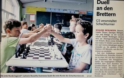 Vorschaubild zur Meldung: Leine-Zeitung: Duell an den Brettern