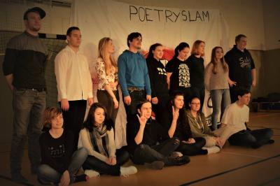 """Vorschaubild zur Meldung: 2. Poetry-Slammer am OSZ """"Alfred Flakowski"""""""