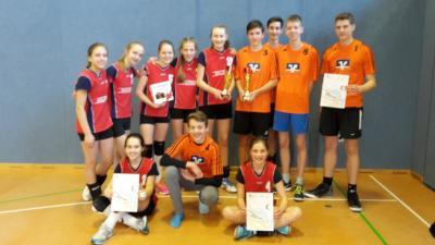 Foto zur Meldung: Regionalfinale Volleyball WKIII