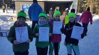 Foto zur Meldung: Skibezirksmeisterschaften Beerberg