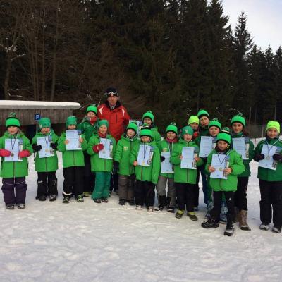 Foto zur Meldung: 9. Masserberger Skiathlon - Skibezirksmeisterschaft Masserberg 29.1.17