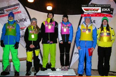 Foto zur Meldung: Deutscher Schüler-Cup Biathlon 22.01.2017 im Harz