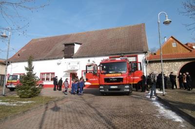Vorschaubild zur Meldung: Neues Feuerwehrdepot im OT Schadeleben