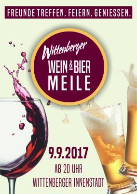 Vorschaubild zur Meldung: Achtung!!! Gastronomen gesucht für die 1. Wittenberger Wein- und Biermeile