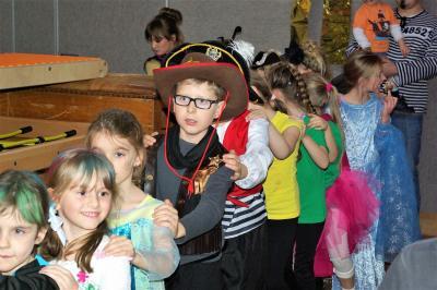Foto zur Meldung: Kinderfasching des TVK