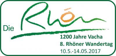 Vorschaubild zur Meldung: 1200 Jahre Vacha / 8. Rhöner Wandertag vom 10.05. - 14.05.2017