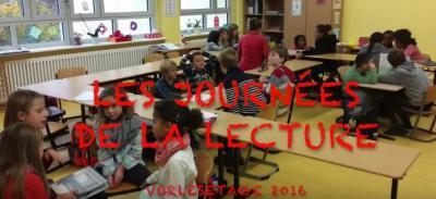 Vorschaubild zur Meldung: Vorlesetage 2016 - Klasse 5b
