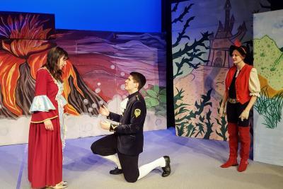 """Vorschaubild zur Meldung: Wie heiratet man eine Prinzessin? - Mit ein bisschen """"Karamba"""" wird alles gut! – Sonntagsmärchen im Theater Zielitz am 05.03.17"""