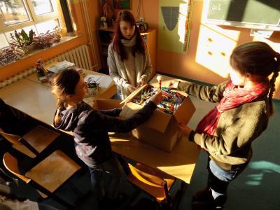 Vorschaubild zur Meldung: Wir sammeln Stifte!