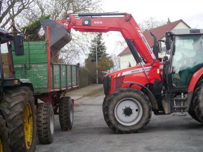 Foto zur Meldung: Arbeitseinsatz in Butzow