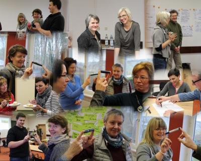 Foto zur Meldung: Dorfmoderator-Team zurück vom ersten Ausbildungsmodul
