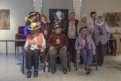 Vorschaubild zur Meldung: Faschinsfeier beim AWO Seniorennachmittag