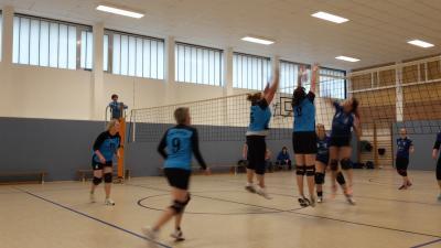 Foto zur Meldung: + + + 5. Spieltag Landesklasse West Volleyball Frauen + + +