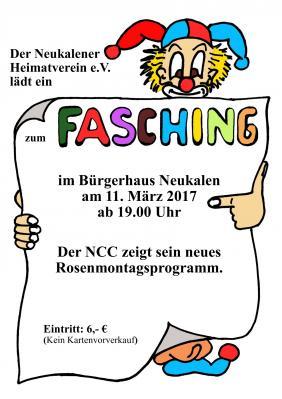 Foto zur Meldung: Fasching im Bürgerhaus Neukalen 2017