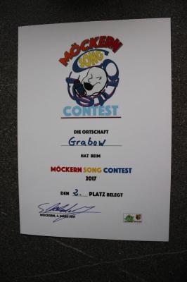 Foto zu Meldung: Grabow erreicht beim ersten Möckern Song Contest den 2. Platz