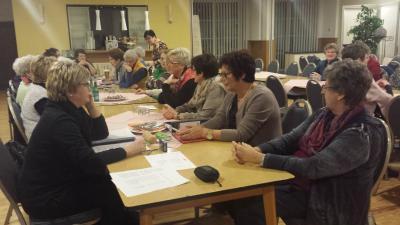 Foto zur Meldung: Frauenchor Schenklengsfeld Jahreshauptversammlung 2017