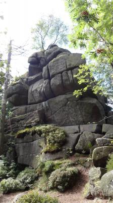 Foto zur Meldung: Wanderung zum Trudenstein und der Leistenklippe