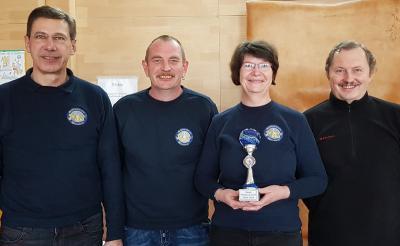 Foto zur Meldung: Wittenberger Astoriaschützen sicherten sich beim Winter Cup in Dessau den 1. Platz
