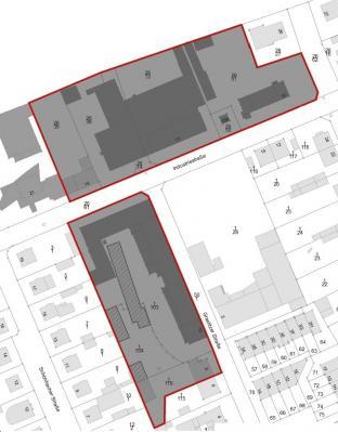 Räumlicher Geltungsbereich des Bebauungsplans