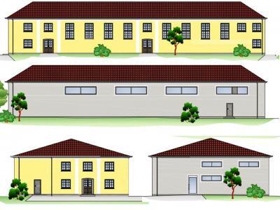 Vorschaubild zur Meldung: Gemeinde erhält 1.575.000 Euro für die Erweiterung und Sanierung der Turnhalle in Kreba-Neudorf