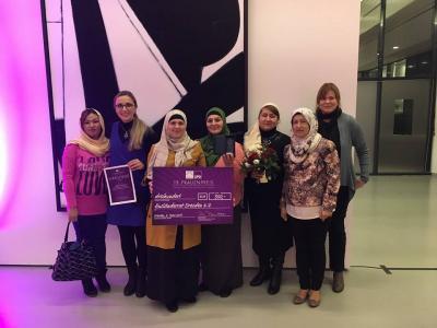 """Foto zu Meldung: Unser Projekt """"Café  Halva"""" hat beim SPD - Frauenpreis den 2. Preis mit 300,00 € gewonnen"""