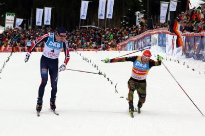 Ein spannendes Wimpernschlagfinale wird beim Weltcup-Finale der Nordischen Kombinierer  in Schonach erwartet - Foto: Hahne