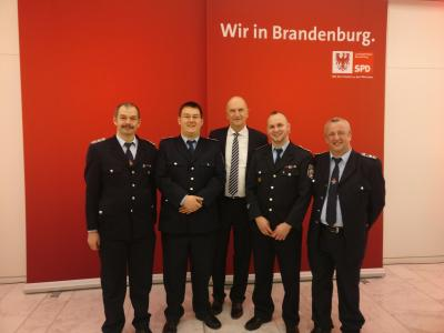 Foto zur Meldung: Zu Besuch im Landtag