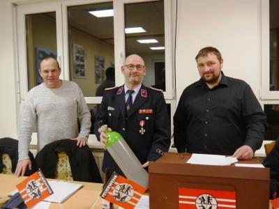 Foto zur Meldung: Jahreshauptversammlung der FFW Nazza